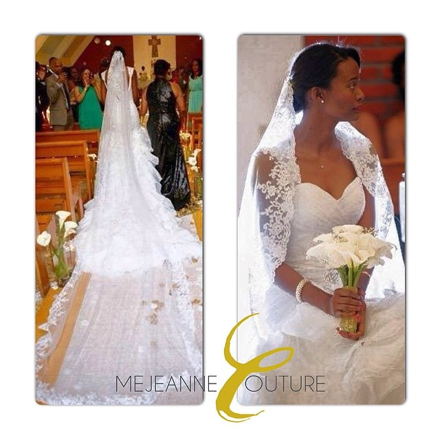Mae Lynn Mathon - Custom Wedding Dress by MeJeanne Couture