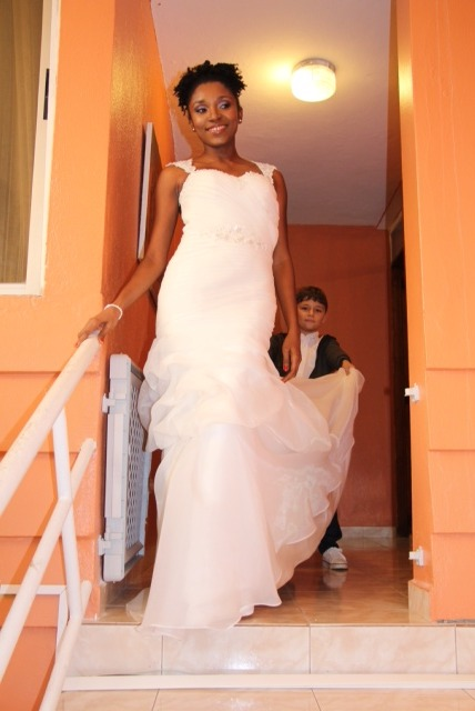 MeJeanne Couture Custom Wedding Gown
