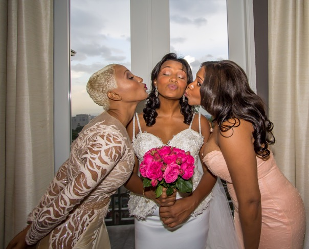 Custom Kisses and A Custom Wedding Dress For Doris Michel Laplante