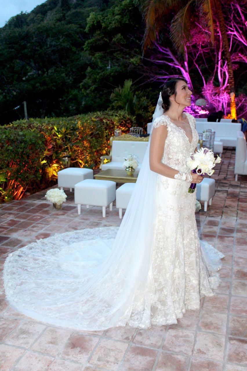 MeJeanne Couture Custom Wedding Dress - Ashley Dahlberg Laroche - Beautiful Bride