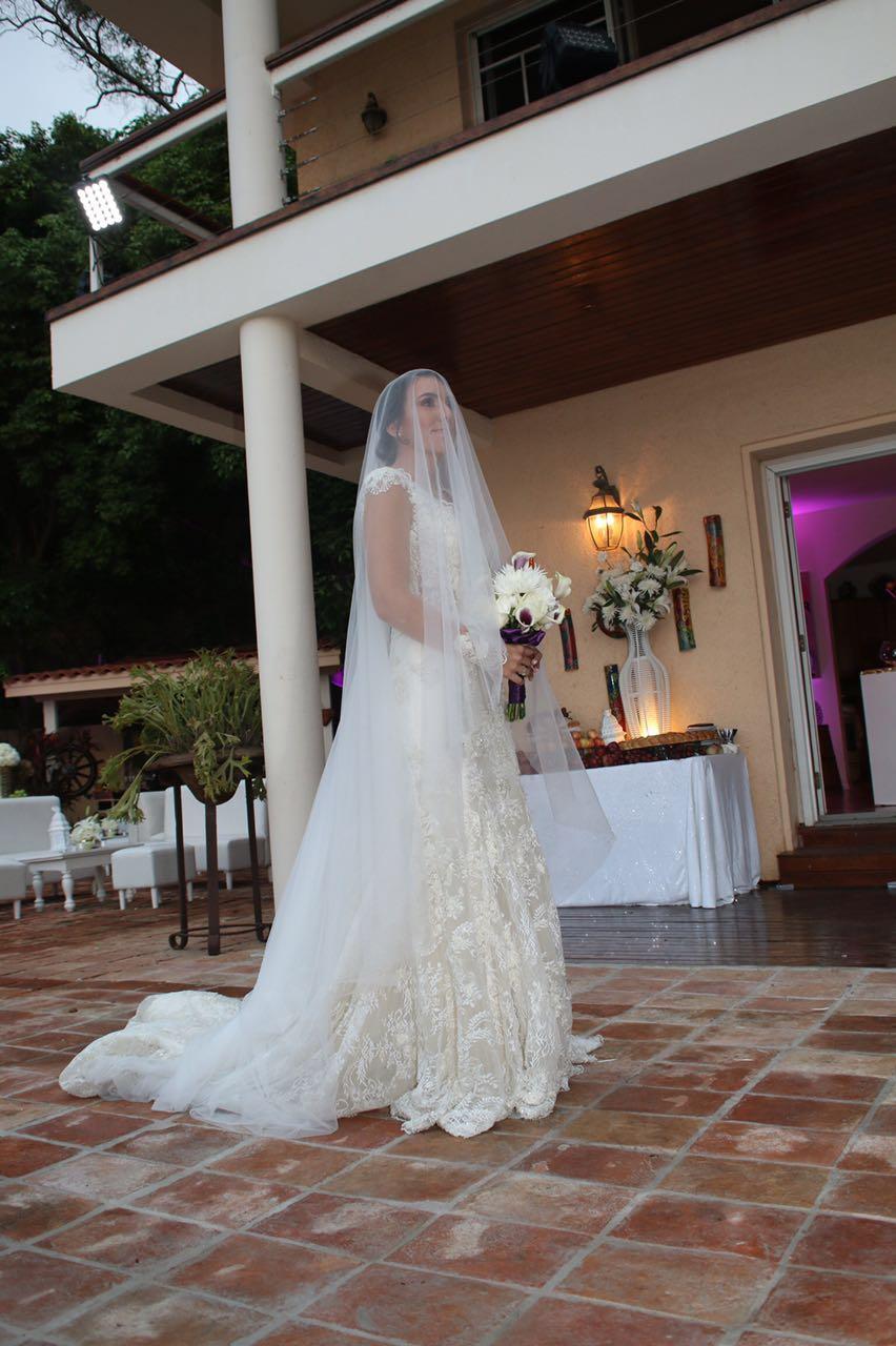MeJeanne Couture Custom Wedding Dress - Ashley Dahlberg Laroche
